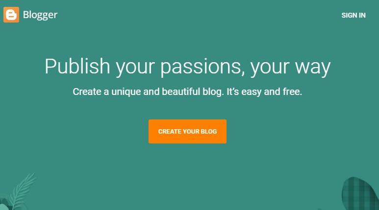 गुगल पर वेबसाइट कैसे बनाये
