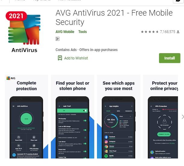 mobile ke virus hatane wale app